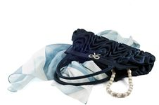 Free Blue Pochette Stock Photos - 16818023