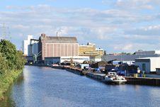 Free Westhafen Docks Stock Photos - 16818493