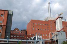 Coal Energy Plant Royalty Free Stock Photos