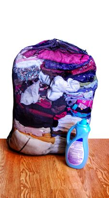 Mesh Laundry Bag Stock Images