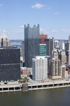 Free Downtown Pittsburgh, Pennsylvania Stock Photo - 16819750