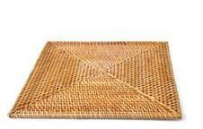 Free Square Wicker Placemat Royalty Free Stock Photo - 16819925
