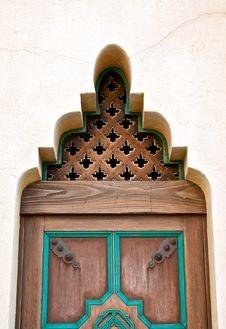 Free Wood Door Royalty Free Stock Photography - 16820267