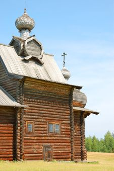 Free Old Wooden Church Royalty Free Stock Photo - 16821305