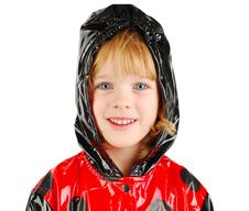 Free Child In Rain Coat. Royalty Free Stock Photo - 16821345