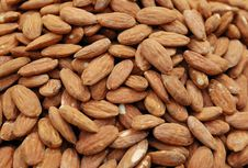 Free Close Up Of Almonds Stock Photography - 16821402