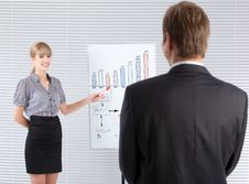 Business Presentation Stock Photography