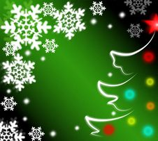 Free Christmas Background Stock Photography - 16821702