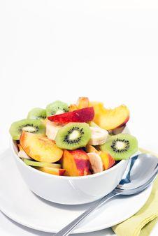 Bowl Of Fresh Fruit V5 Royalty Free Stock Image