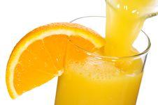 Free Orange Juice Royalty Free Stock Photos - 16821868