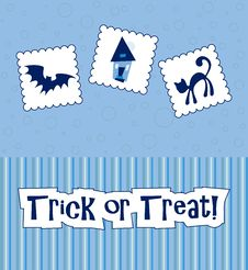 Free Halloween Card Stock Photography - 16822172