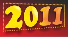 Free Logo 2011 Stock Image - 16822361