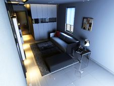 Free Interior Living-room Stock Photos - 16822733