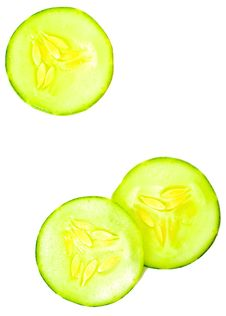 Free Cucumber Slices Stock Image - 16822741