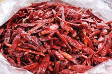 Free Dry Chili Royalty Free Stock Images - 16823909