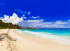 Free Panorama Of Tropical Beach Stock Image - 16824881