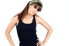 Free Girl In Warm Bandanna Stock Photo - 16827220