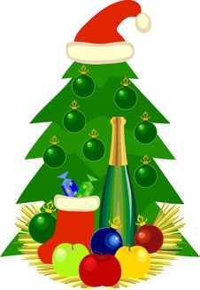 Free Christmas Still Life Royalty Free Stock Photos - 16827348