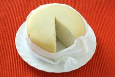 Free Cheese On A Plate Royalty Free Stock Photos - 16827398