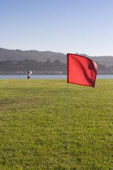 Free Red Flag Royalty Free Stock Photos - 16827678