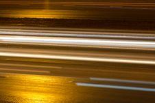 Free Road  Night  Asphalted Stock Image - 16828641