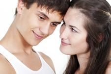 Free Beautiful Young Happy Couple Stock Photo - 16828930