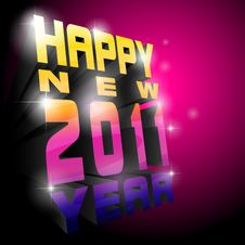 New Year. Abstract Background. Royalty Free Stock Images