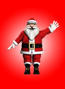 Free Happy Christmas Santa Stock Images - 16829264