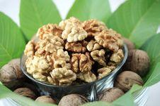 Free Walnuts Royalty Free Stock Photography - 16829397
