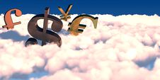 Free 3D Currency Symbols Stock Photos - 16829633