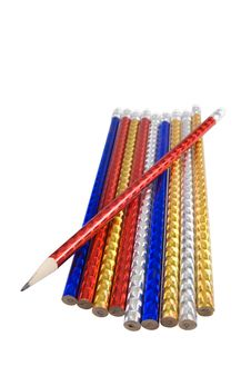 Free A Lot Of Color Pencils Royalty Free Stock Photos - 16829918