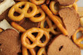 Free Pretzel Bread Mix Royalty Free Stock Photos - 16834418
