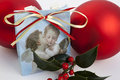 Free Christmas Decoration With Angels An Red Baubles Stock Images - 16837074
