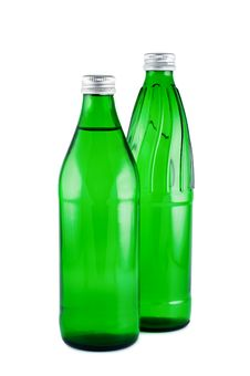Free Bottles Water Isolated. Stock Photos - 16830513