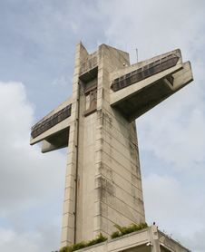 Landmark Cross At Ponce Puerto Rico Stock Photos