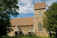 Free Portrait Of The Church Stock Photos - 16830643