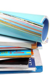 Free A Pile Of Magazines Stock Photography - 16831992