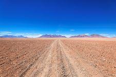 Free Atacama Desert Bolivia Stock Image - 16832021