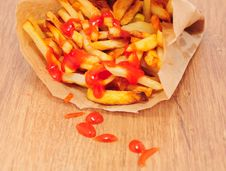 Free French Fries Stock Photography - 16832602