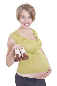 Free Pregnant Woman Royalty Free Stock Photography - 16832797