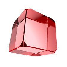 Free Red Crystal Royalty Free Stock Photos - 16832878
