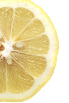Free Lemon Slice Royalty Free Stock Photos - 16832918
