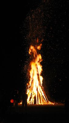 Free Wood Fire Royalty Free Stock Photos - 16833098