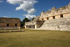Free Ancient Maya City Of Uxmal, Yucatan, Mexico Royalty Free Stock Photography - 16833307