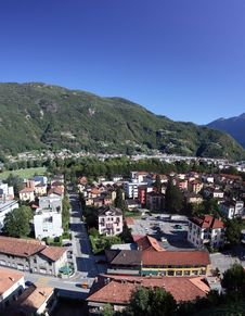 Ticino Panorama Royalty Free Stock Images
