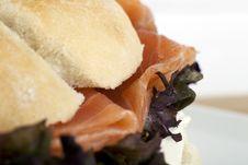 Smoked Salmon Close Up Royalty Free Stock Image