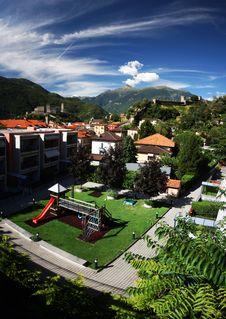 Free Belinzona Castles Stock Photography - 16833372