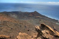 La Palma Volcano Royalty Free Stock Photography