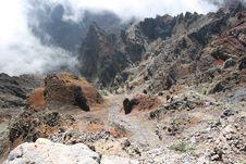 La Palma Volcanic Island Royalty Free Stock Images