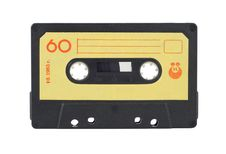 Free Audio Cassette Royalty Free Stock Photography - 16833637
